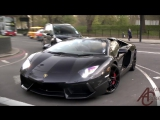 Supercars in London - April 2014 (Gold cars, burnt rubber, custom cars and more) - YouTube