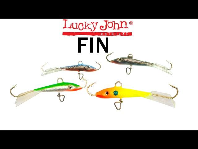 Балансир Lucky John Fin Balanced Lures Underwater Ice Jig Fishing Lures