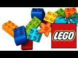 Сборник развивающих мультфильмов с конструкторами LEGO. Играем в лего и машинки