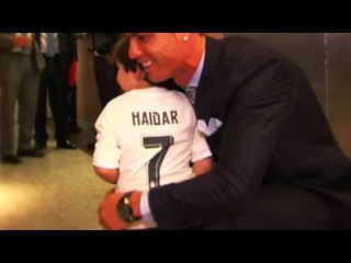 Cristiano Ronaldo Meets The Lebanese Orphan Who Lost Both Parents In Beirut Bombings