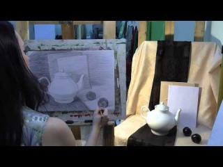Урок рисования для начинающих