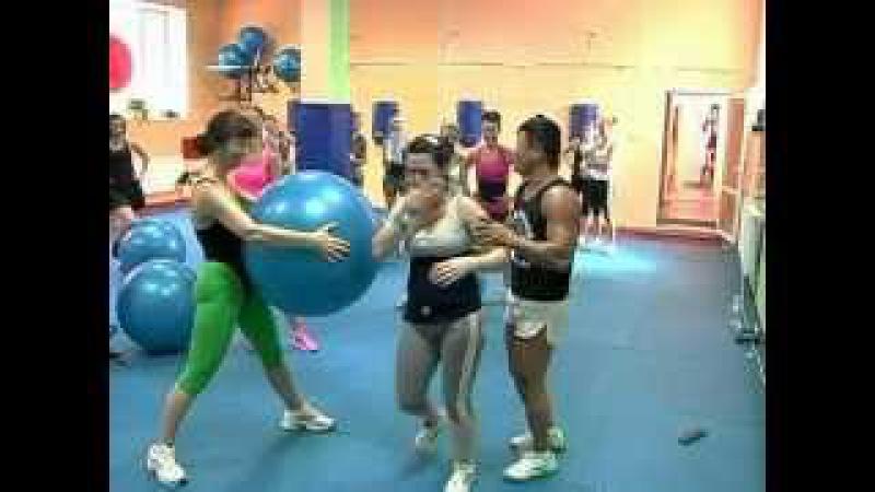 БОКС АЭРОБИКА-групповая тренировка по фитнесу