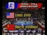 Риддик Боу(США)-Александр Мирошниченко(СССР)/+91 кг./Олимпиада-88/1/2 финала