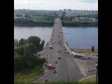 #alexkave #city #nizhnynovgorod #russia #river #oka #summer #june #bridge #kanavinskiy #walk #sunny #car