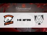 Virtus.Pro vs Alliance   TI 6, Qualification, 25.06.16
