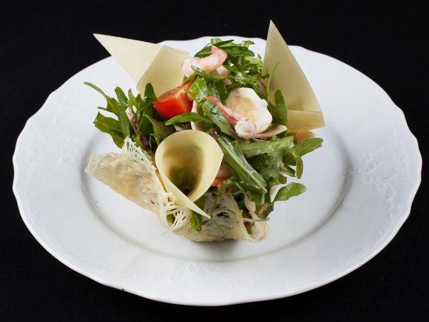 Украшение салатов фото приготовление в ресторане