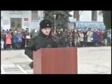Присяга дагестанца в Севастополе под Аллаху акбар