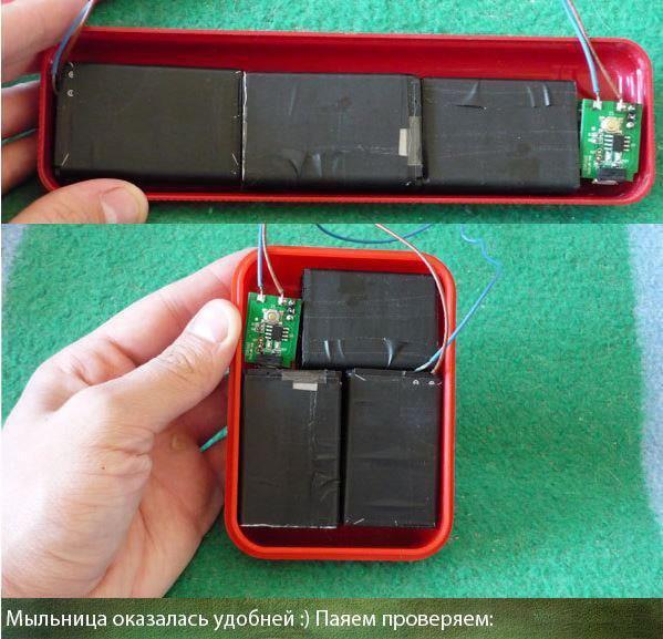 Как сделать power bank из аккумулятора телефона