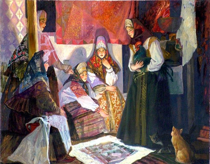 Гадания - картины художников известных и неизвестных 795A94T5a1g