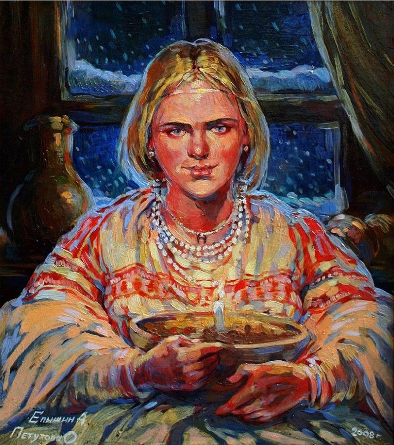 Гадания - картины художников известных и неизвестных UEK56ksMs4k