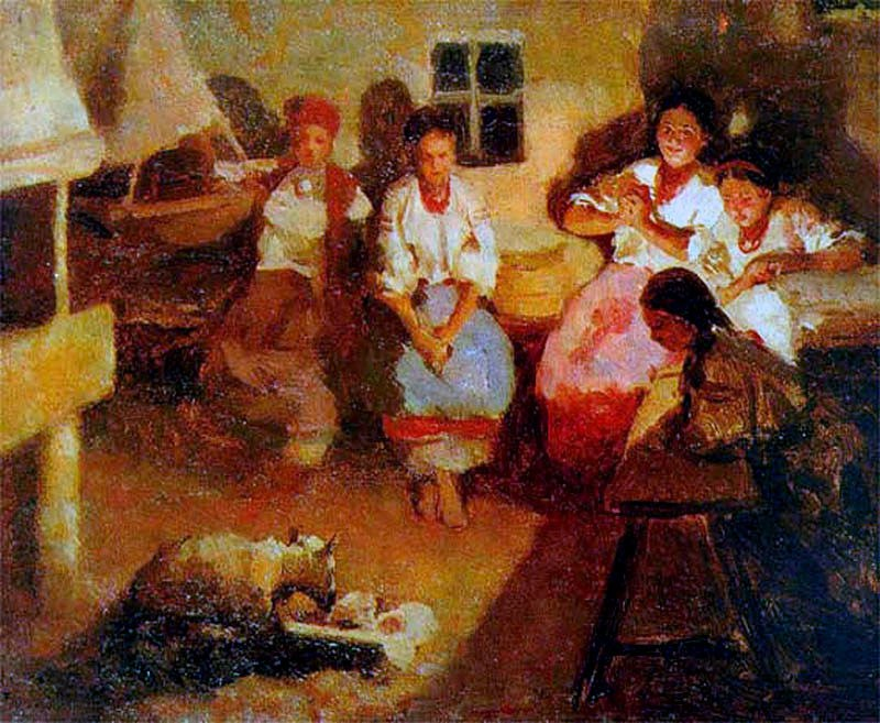 Гадания - картины художников известных и неизвестных Q5zXMZZsPdw