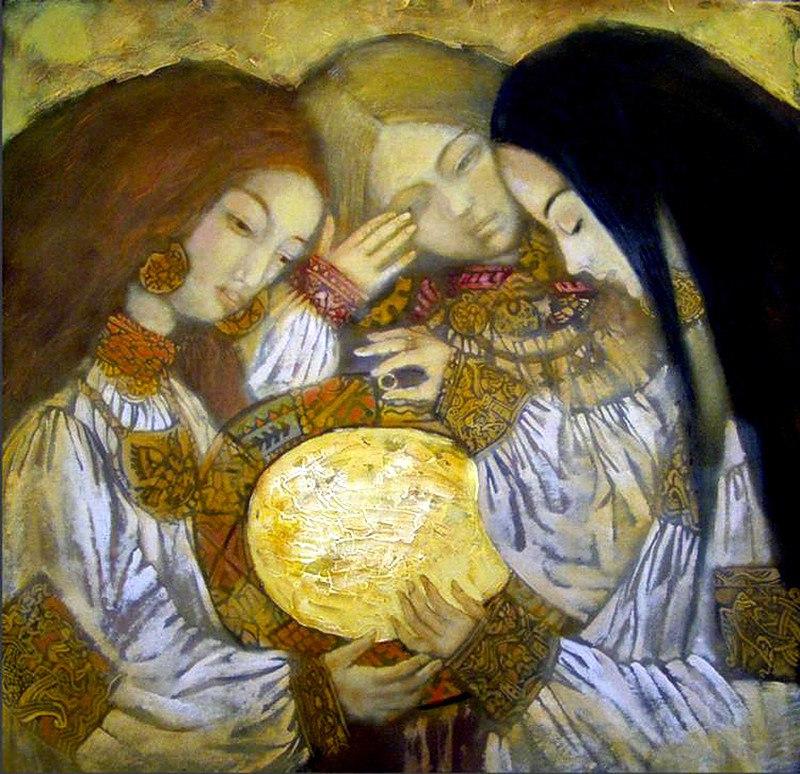Гадания - картины художников известных и неизвестных FvtqQ56w5BQ