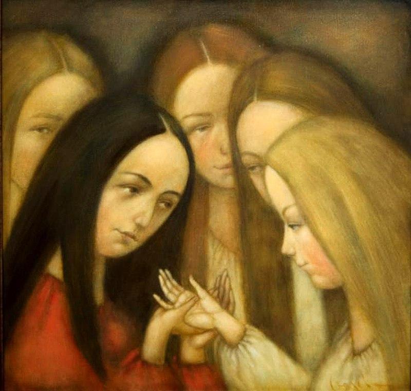 Гадания - картины художников известных и неизвестных 6DSrlqvU664