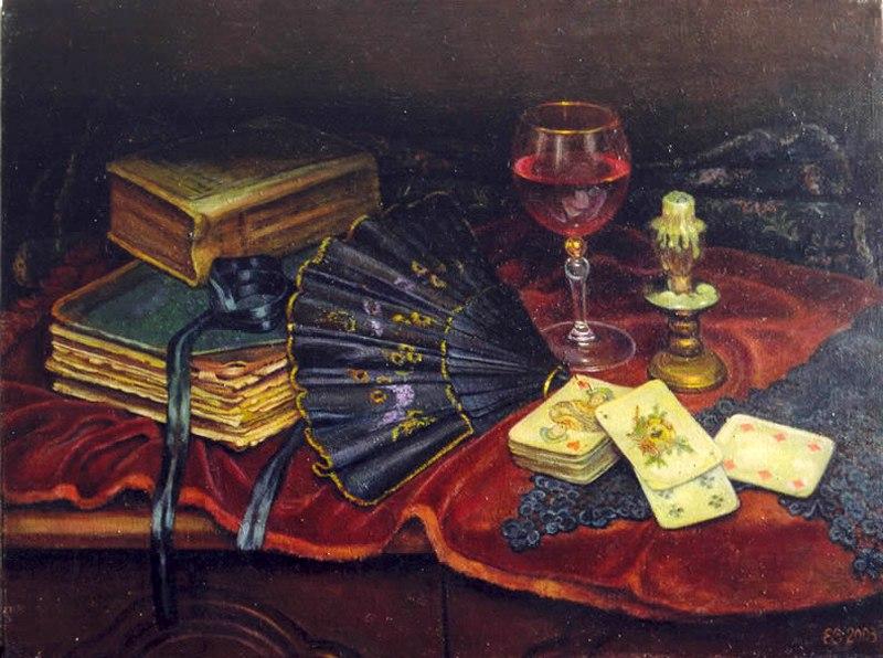 Гадания - картины художников известных и неизвестных D9CVp7c0Bts
