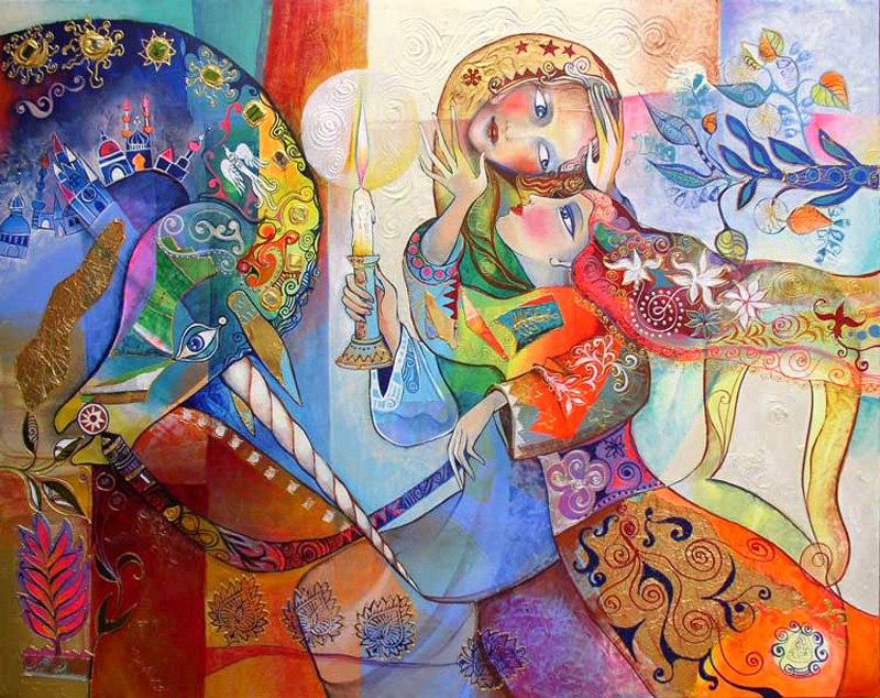 Гадания - картины художников известных и неизвестных LNrVmdSwqHA