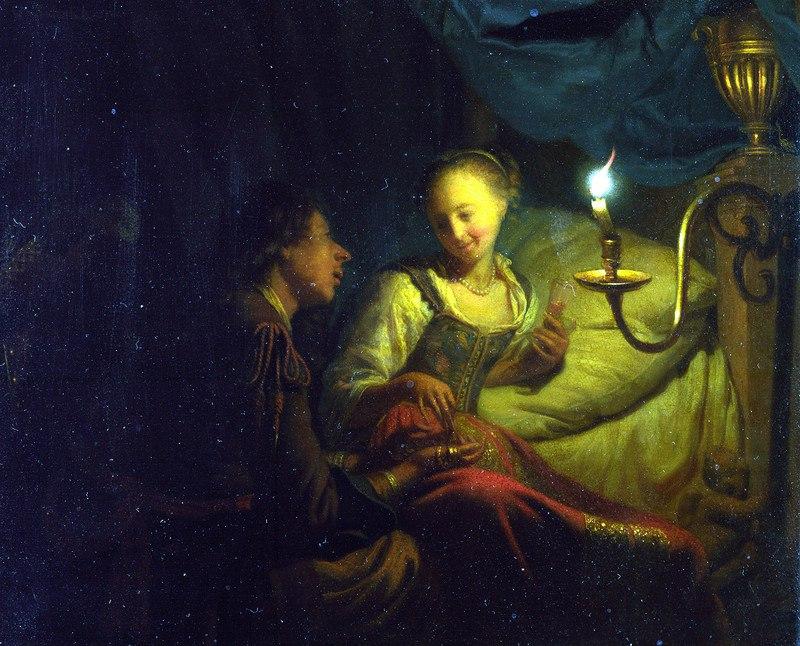 Гадания - картины художников известных и неизвестных HiN0-OcwTUU