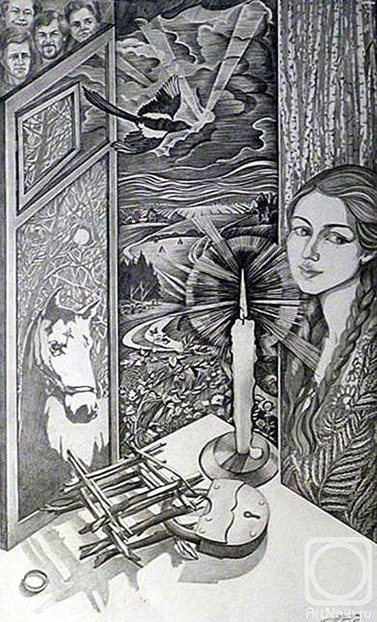 Гадания - картины художников известных и неизвестных _QbMQShrZfo