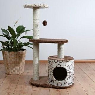 Домик для котов с когтеточкой своими руками 44