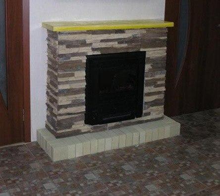 Топка для декоративного камина кронштейн опоры дымохода
