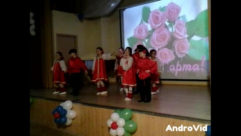 танец Русские сапожки