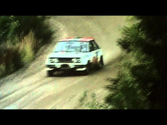 1000 Lakes Rally Finland 1978