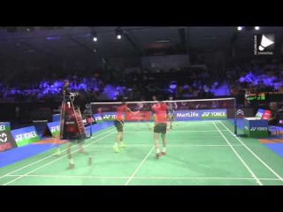 Power vs Skill - Super Fast Badminton Rallies 2015