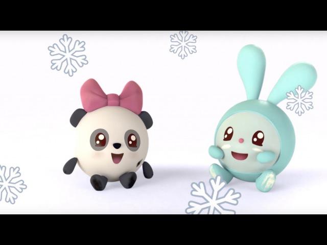 Малышарики - Ёлка (9 серия) | Развивающие мультфильмы для самых маленьких 1,2,3,4 года
