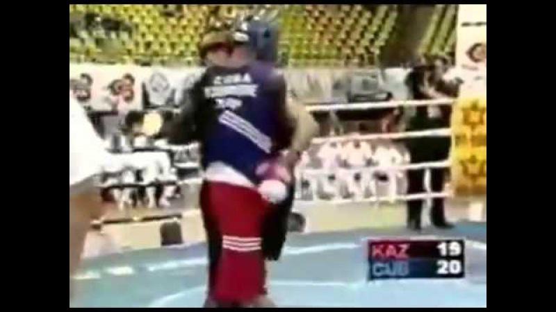 Геннадий Головкин vs Йорданис Деспейн в любителях 2003 год