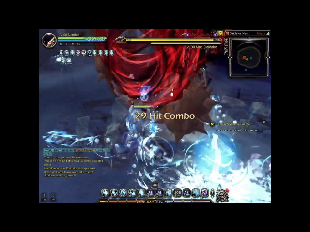 Dragon Nest SEA Elestra lv 90 Solo Daedalos Nest