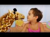 Видео для детей. Игра в паззлы с животными. Мягкие игрушки