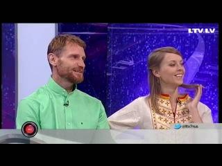 МИРАЗВОН в гостях рижского ТВ