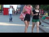 SEXy Girl in Mini skirt !!! Сексуальная девушка в короткой юбке !!! Part Four