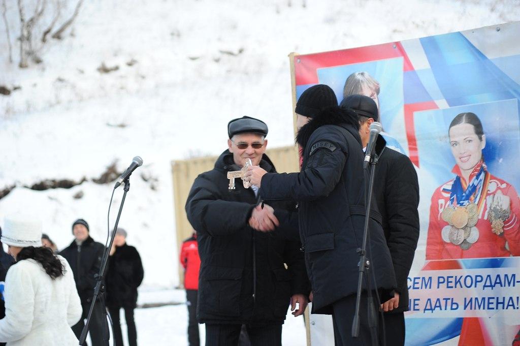 Открытие комплекса в Бородино