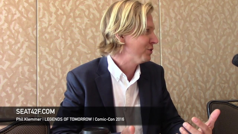 Phil Klemmer LEGENDS OF TOMORROW Interview Comic Con 2016