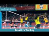 Brazil vs Turkey | Women`s volleyball of the XXX Olympiad 2012