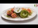 Come fare dei fiori di verdure temperate - Tutorial VisualFood