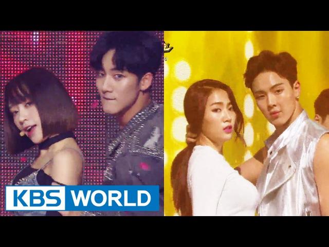 Special Collaboration - HANI X JIHUN / SOYOU X SHOWNU [Music Bank / 2016.06.24]