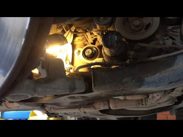 Как заменить сальник правого переднего привода в раздатке на Ниссан Мурано Z51 Nissan Murano