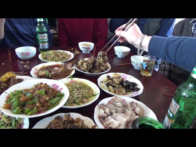 Деревенский Китайский Новый Год Жизнь в Китае 72
