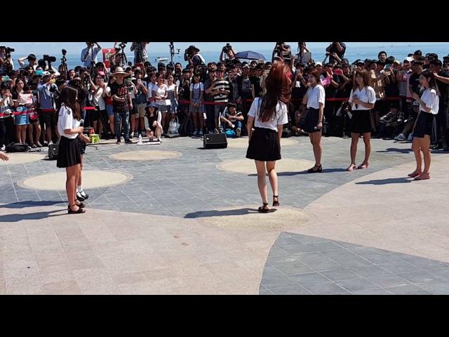 160709. 부산 해운대 해수욕장 다이아 (DIA) 버스킹 은진이 댄스 안보면 섭하죠..