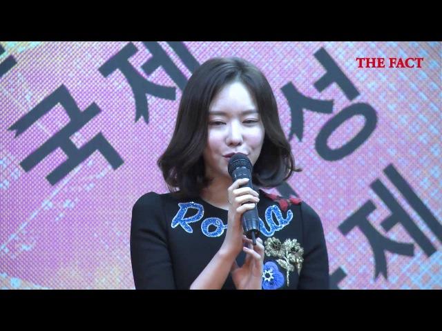 [TF영상]김아중 더킹 정우성·조인성·류준열과 촬영중, 축복받은 현장