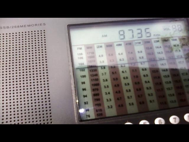 Voice of Turkey (Emirler 500 kW) 26.05.16 - 9735 kHz