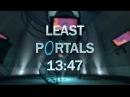 Portal Done with 15 Portals in 13:47 - Least Portals