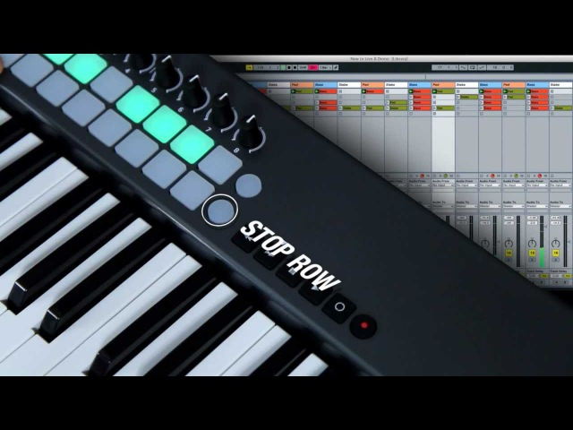 Novation Launchkey: Controlling Ableton Live