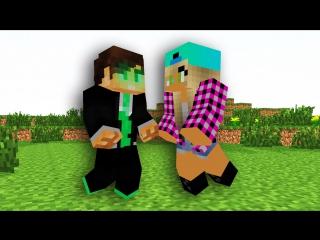 Minecraft Мультики. Ивангай и Марьяна Ро. Атака зомби(EeOneGuy и Maryana Ro)