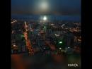 Закат на 52 этаже Екатеринбург. Высоцкий.