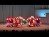 Ансамбль Берёзка - Русский хороводный танец Воротца (юбилейный концерт в КЗЧ, 02.10.13)