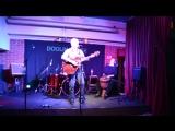 Живой звук.....акустический концерт Анвара в клубе Дулин Хауз.....перкусия  Ольга Сергеева