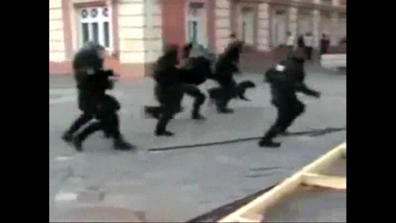 Суровый Румынский Спецназ в действии