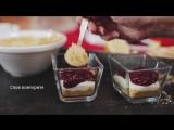 Быстрый вишневый мини-чизкейк [sweet  flour]